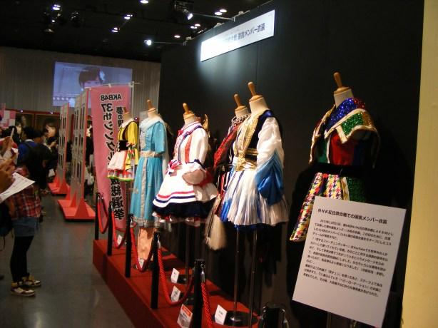 選抜総選挙ミュージアム2014「衣装展示編」